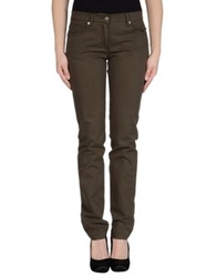 Roccobarocco Casual Pants Military Green
