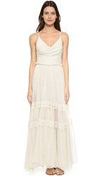Maria Lucia Hohan Lace Up Back Gown Dew