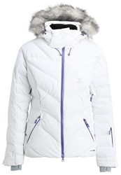 Salomon Icetown Ski Jacket White