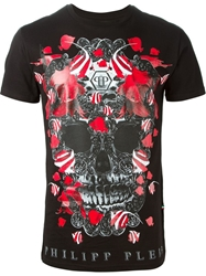 Philipp Plein 'Clown Fish' T Shirt Black