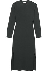 Christophe Lemaire Wool Dress Dark Green