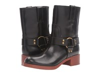 Marc Jacobs Campbell Moto Boot Black Women's Boots