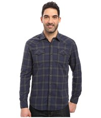 James Campbell Long Sleeve Woven Scot Vaquero Forest Men's Long Sleeve Button Up Green