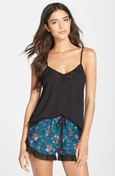Women's Band Of Gypsies Lace Cami Black