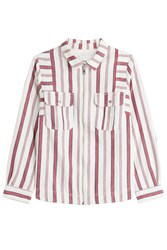 Zadig And Voltaire Cotton Tach Raye Shirt Stripes