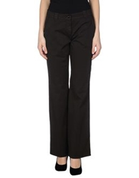 Caractere Aria Casual Pants Dark Brown