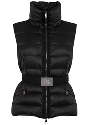 Moncler Tareg Black Quilted Shell Gilet