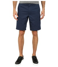 Dockers Core Flat Front Straight Shorts Faded Navy Men's Shorts