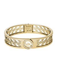 Fulton Mk Monogram Bangle Michael Kors Rose Gold