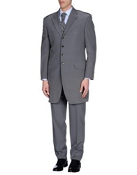 Carlo Pignatelli Cerimonia Suits Grey