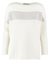 Kiomi Jumper White Ashes Of Rose