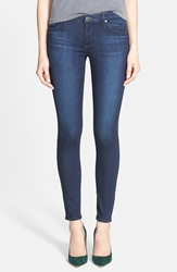 Ag Jeans Super Skinny Ankle Jeans Coal Blue