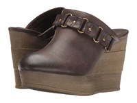 Sbicca Holden Brown Women's Wedge Shoes