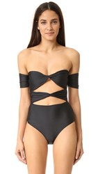 6 Shore Road Wanderlust One Piece Black Rock