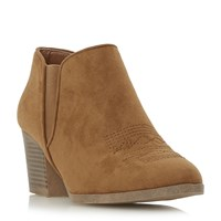 Head Over Heels Poppys Ankle Boots Tan