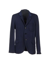Luis Trenker Suits And Jackets Blazers Men Dark Blue