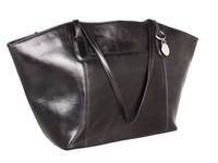Hobo Patti Black Vintage Leather Shoulder Handbags