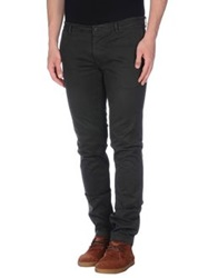 Gold Case By Rocco Fraioli Casual Pants Steel Grey