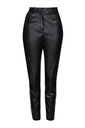 Killing Moon Pu High Waisted Trousers By Goldie Black