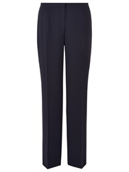 Windsmoor Pintuck Tailored Trousers Navy