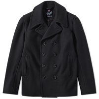 Gloverall Admiralty Peacoat Black
