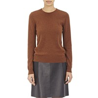 Barneys New York Cashmere Sweater Brown