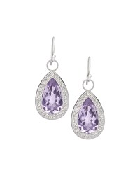 Jude Frances Judefrances Jewelry Soho Lavender Amethyst Earrings Women's