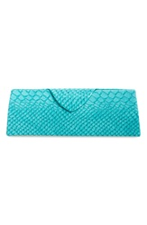 Triangle Reading Glasses Case Turquoise