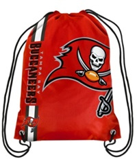 Forever Collectibles Tampa Bay Buccaneers Big Logo Drawstring Bag Red