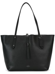 Coach Double Handles Tote Black