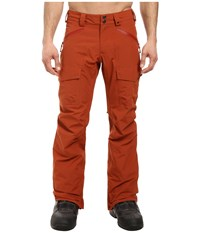 Burton Rotor Pants Picante Men's Casual Pants Red