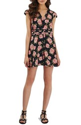 Topshop Women's 'Romantic Bloom' Tea Dress