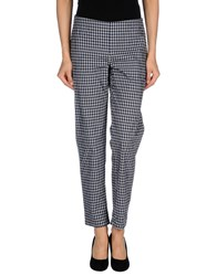 Niu' Trousers Casual Trousers Women Dark Blue