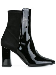 Fratelli Rossetti Almond Toe Ankle Boots Black