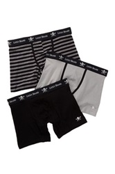 Lucky Brand Black Label Boxer Brief Pack Of 3