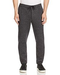 Todd Snyder Wool Silk Slim Fit Sweatpants Light Grey