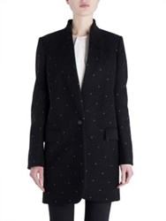 Stella Mccartney Bryce Studded Coat Black