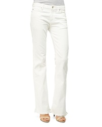 Iro Freddy Boot Cut Jeans Off White