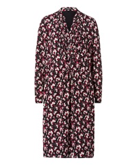 Olsen Floral Dress Red