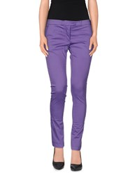Soallure Trousers Casual Trousers Women Purple