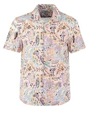 Desigual Cam Luis Regular Fit Shirt Blanco Multicoloured