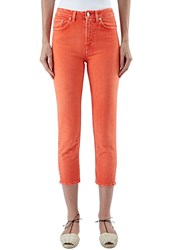 Acne Studios Patti Slim Leg Jeans Orange