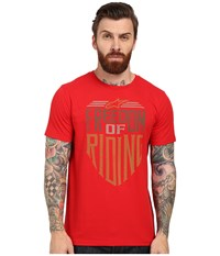 Alpinestars Freedom Tee Red Men's T Shirt