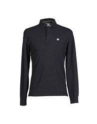 Murphy And Nye Polo Shirts Steel Grey