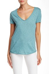 Zadig And Voltaire Tino Flamme Tee Blue