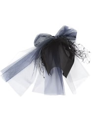 Maison Michel 'Gracy' Fascinator Black