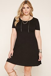 Forever 21 Plus Size Ribbed Cutout Dress