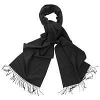 Thomas Pink Signature Wool Cashmere Scarf Charcoal