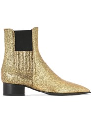 David Beauciel 'Billy Dilly' Ankle Boots Metallic