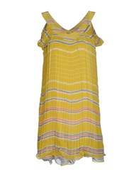 Poems Dresses Short Dresses Women Yellow